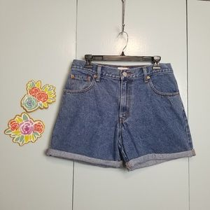 Vintage levis 550 high waist shorts size 10 -C8